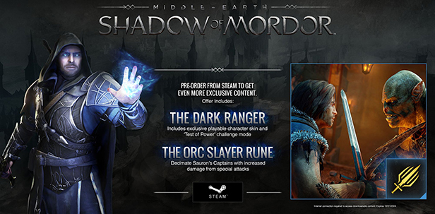 Middle-earth Shadow of Mordor (Steam Gift/ RU + CIS)