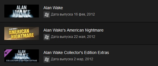 Alan Wake Franchise Pack (Steam Gift/ RU + CIS)