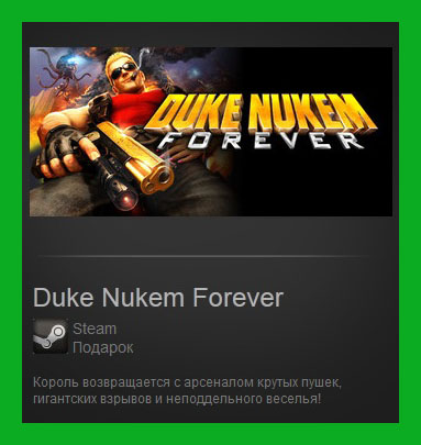 Duke Nukem Forever (Steam Gift/ Region Free / RoW)