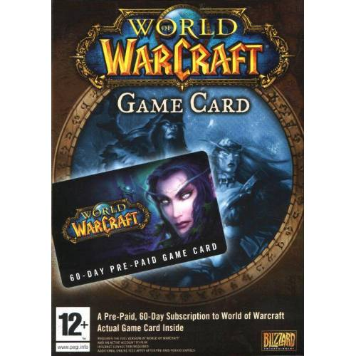 WOW) WORLD OF WARCRAFT (EU) TIMECARD 60 DAYS EURO