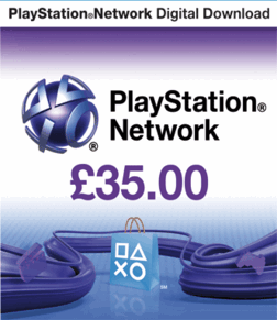 PLAYSTATION NETWORK  PSN 35 UK