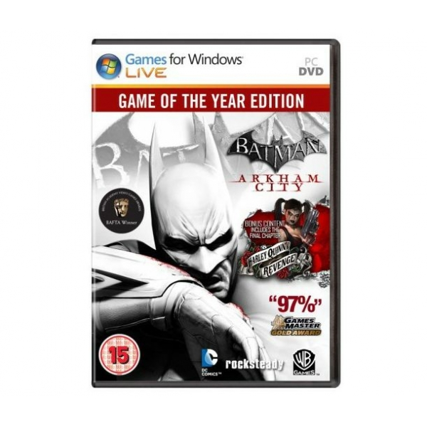 Batman: Arkham City - GOTY (SteamGift/Region Free)