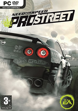 NEED FOR SPEED PRO STREET (EU / MULTILANG) REGION.FREE