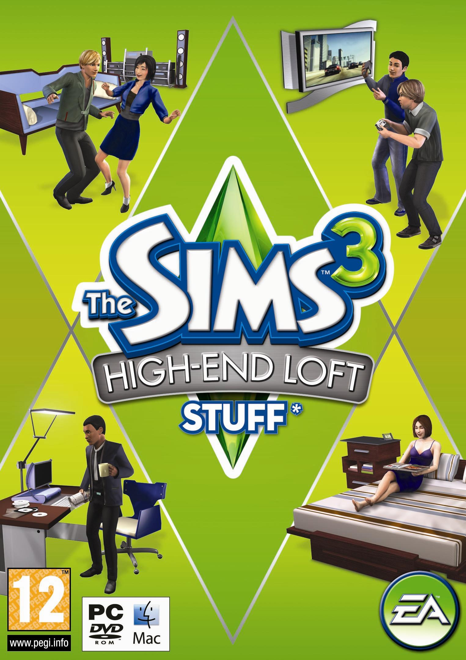 The Sims 3 High End Loft Stuff (REGION FREE/MULTILANG)