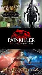 Darksiders 2, Arcania, Painkiller, Speelforce 2 (RegFREE)