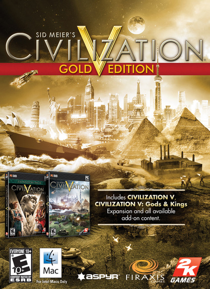 Civilization V 5 Gold Edition Steam(REG.FREE/MULTILANG)