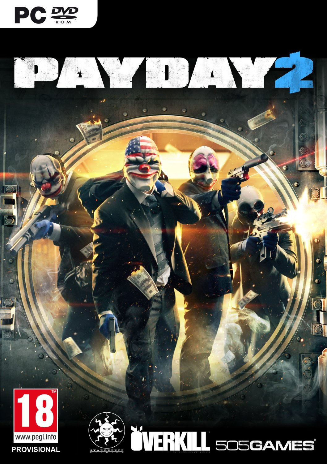 Payday 2 Steam Gift (Region Free / Multilanguage)