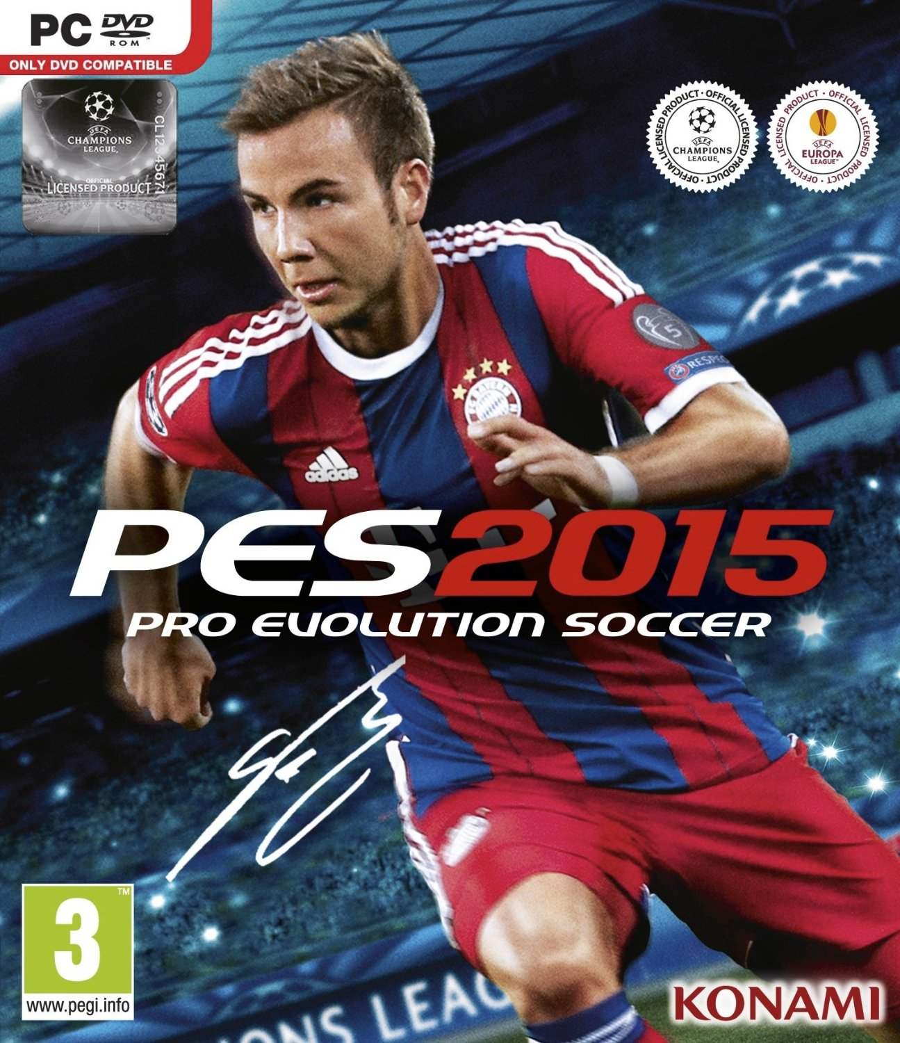 Pro Evolution Soccer 2015 Steam (Region Free/Multilang)