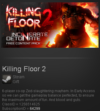 Killing Floor 2 Steam Gift - Region Free/ROW