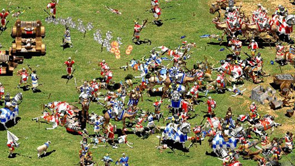 Age of Empires II+Age of Mythology(NEW Steam account)