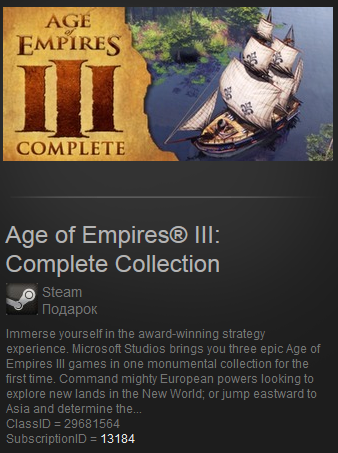 Age of Empires III: Complete Collection(Steam Gift/ROW)