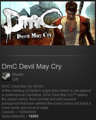DmC Devil May Cry (ROW) (Steam Gift / Region Free)