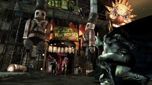 Batman: Arkham City - GOTY Steam gift Reg Free + GIFT