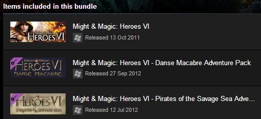 Might and Magic Heroes VI Gold (Steam ROW/Region Free)