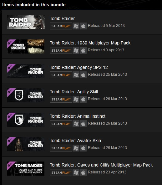 Tomb Raider 2013 GOTY - Steam Gift (ROW)