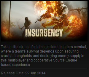 INSURGENCY  (New Steam Account ROW - Region Free+EMAIL