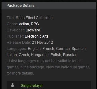 Mass Effect Collection- steam gift +ПОДАРОК