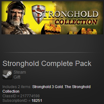Stronghold Complete Pack (Steam Gift Region Free)