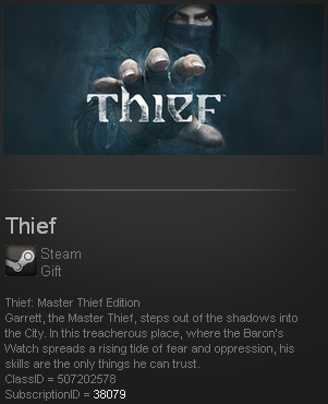 Thief: Master Thief Edition ROW(Steam Gift Region Free)