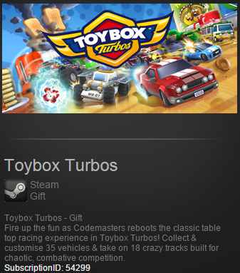 Toybox Turbos Steam Gift - Region Free