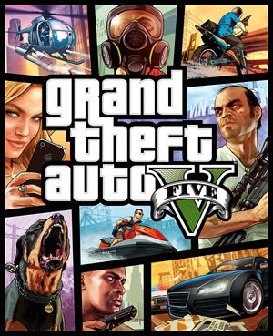 Grand Theft Auto V 5 Region Free/Multilang