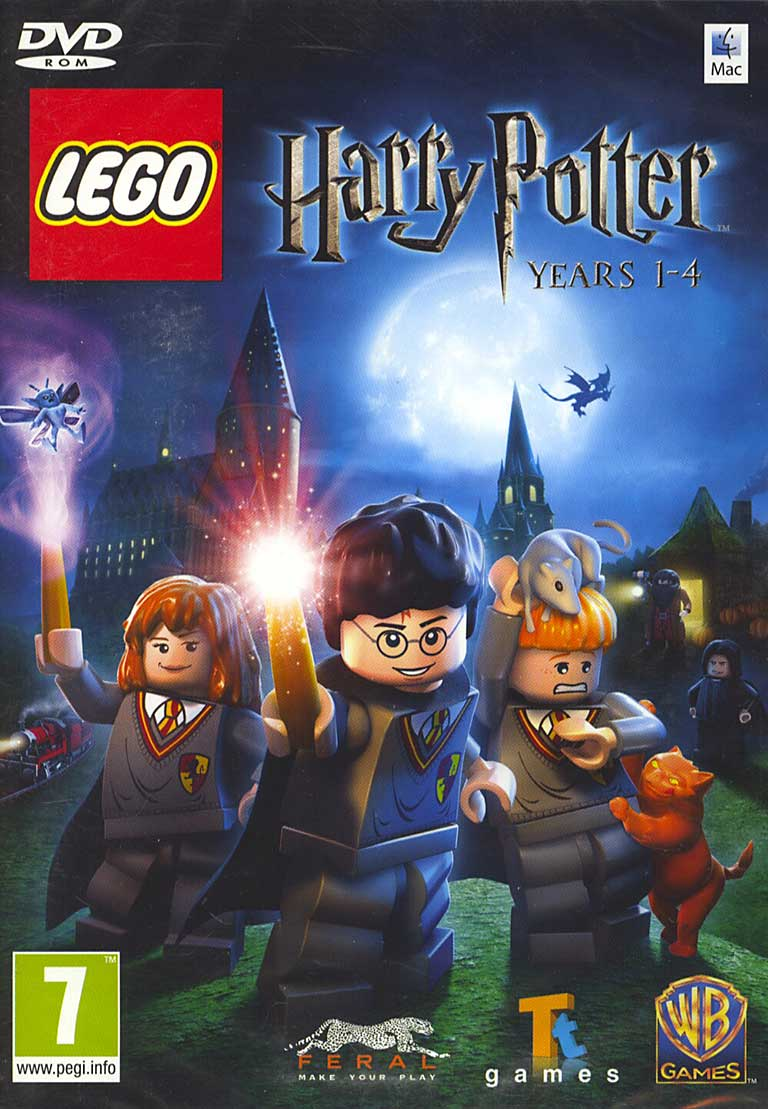 z LEGO Harry Potter: Years 1-4 (Steam) Region Free