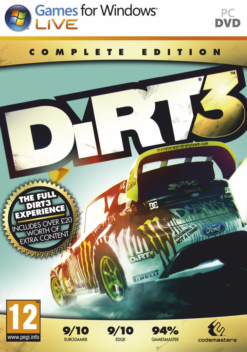 z DiRT 3 Complete Edition (Steam/RegionFree)