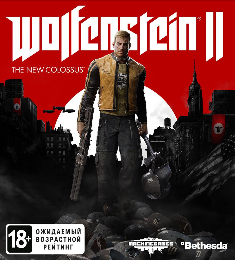Wolfenstein 2 II: The New Colossus (Steam) RU/CIS
