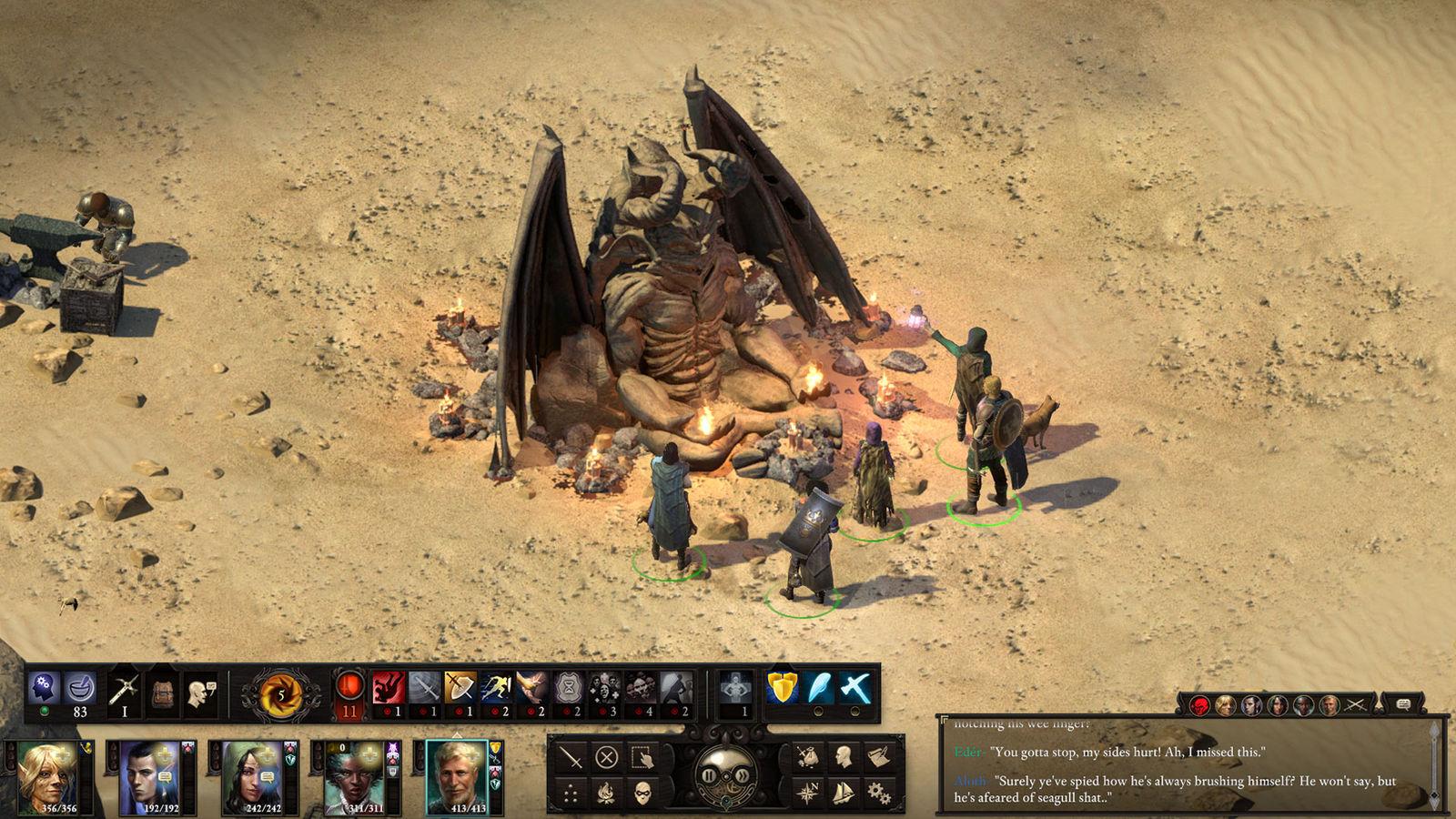 Скриншот  8 - Pillars of Eternity II 2: Deadfire Obsidian Ed(Steam)