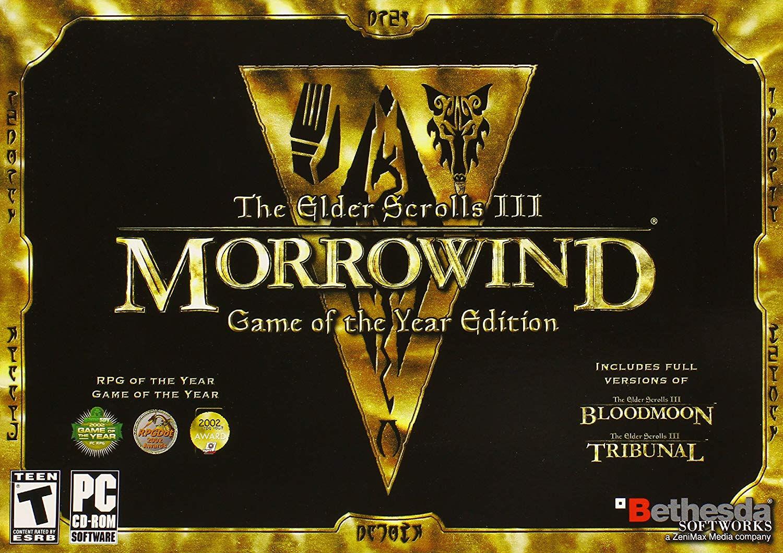 Фотография the elder scrolls iii 3: morrowind goty (steam) regfree