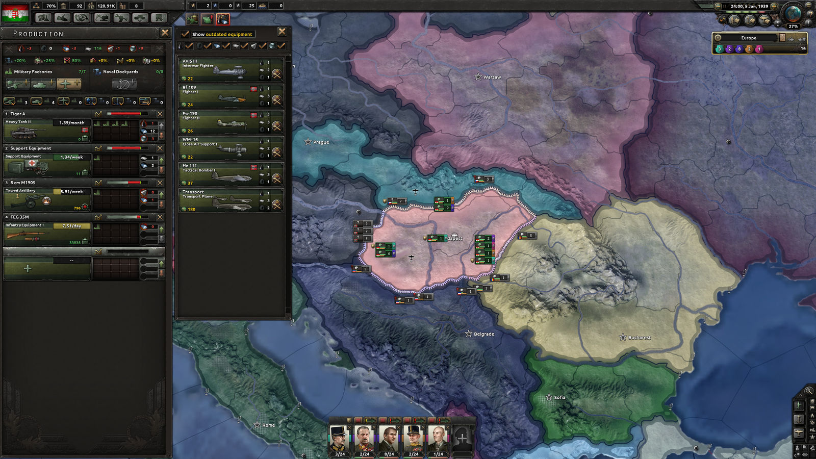 Hearts of Iron IV 4: Death or Dishonor (Steam) RU/CIS
