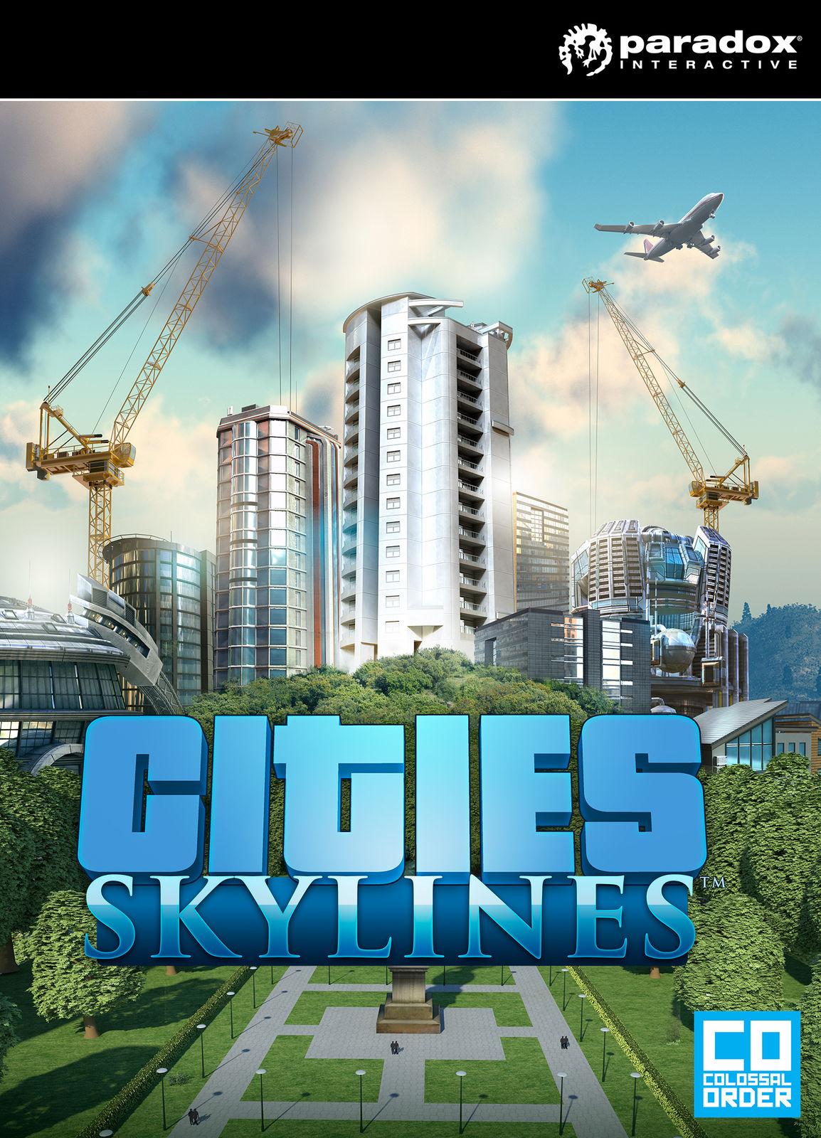 Фотография cities: skylines deluxe edition (steam) ru/cis