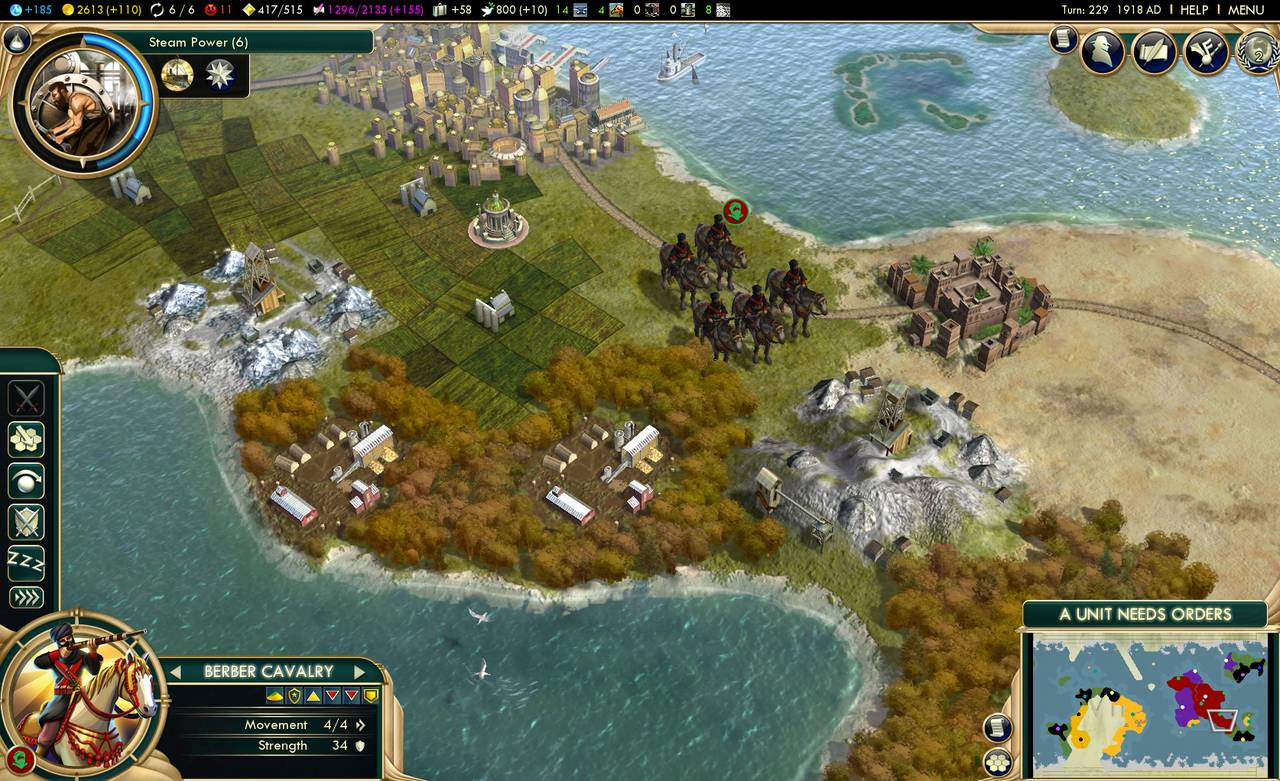 Civilization V 5: Brave New World (Steam) RU/CIS