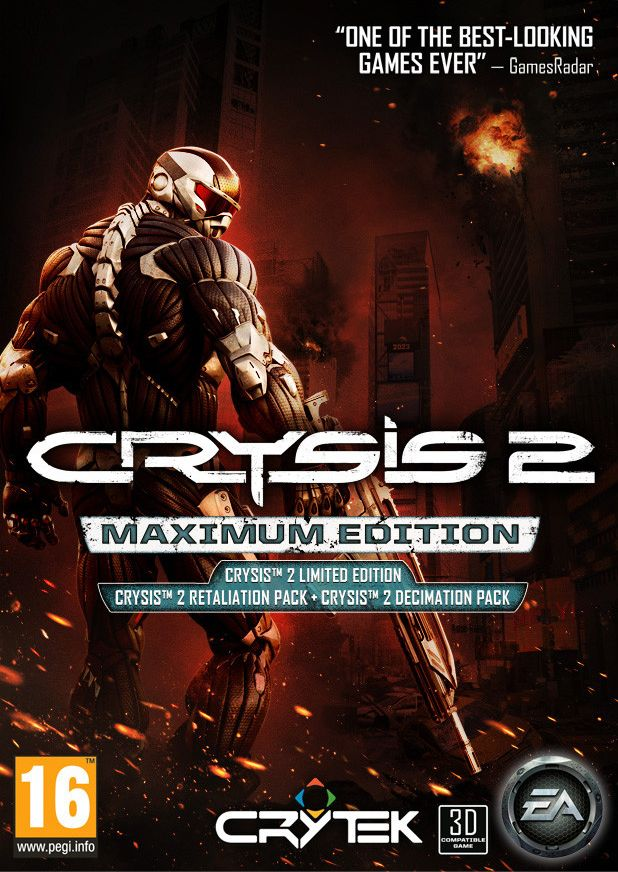 z Crysis 2 Maximum Edition (Origin / RegionFree / Multilang)