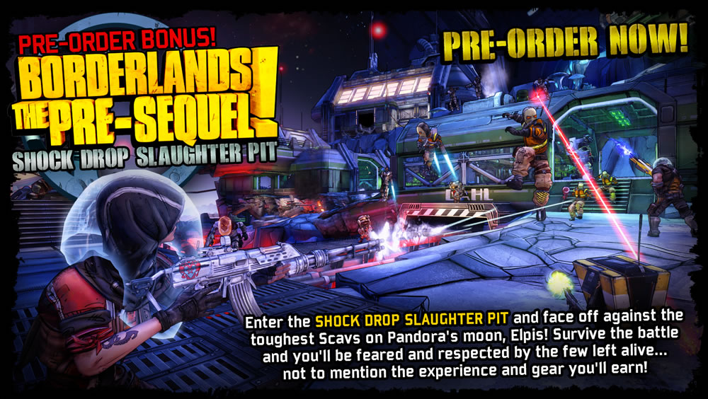 Borderlands: The Pre-Sequel  + DLC (Steam) RU/CIS