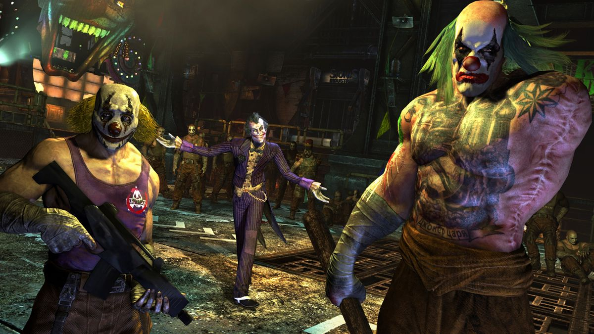 Batman: Arkham City GOTY (Steam) Region Free