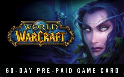 World of Warcraft Timecard 60 дней EURO! Скидки