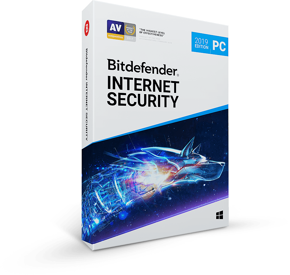 Bitdefender Internet Security 2020- 180 days 3 PC key