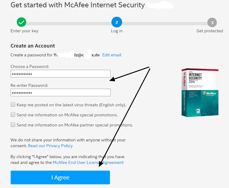 McAfee Internet Security 2019 -3 YEARS / 1 PC + BONUS