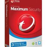 Trend Micro Maximum Security 1 ГОД/3 ПК (Турция) ключ