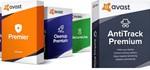 Avast Cleanup Premium+SecureLine VPN+AntiTrack 360+дней