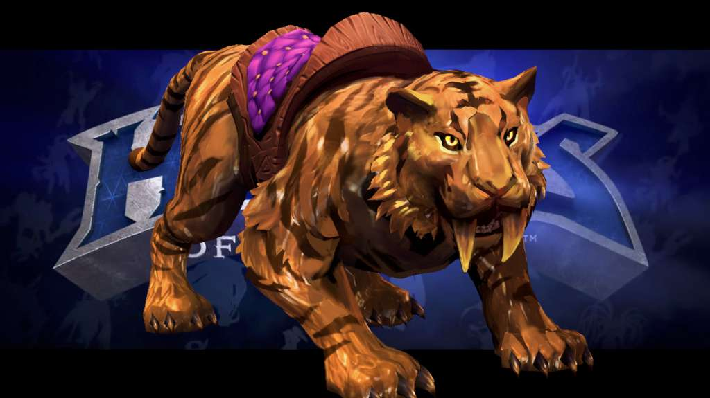 Heroes of the Storm Mount portrait Golden Tiger Key