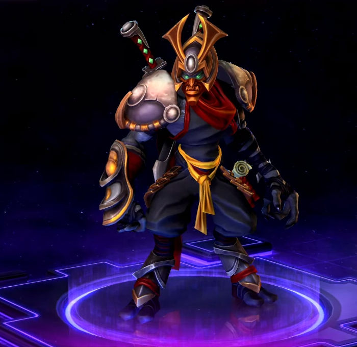 Heroes of the Storm Look Ronin Zeratul Skin Key