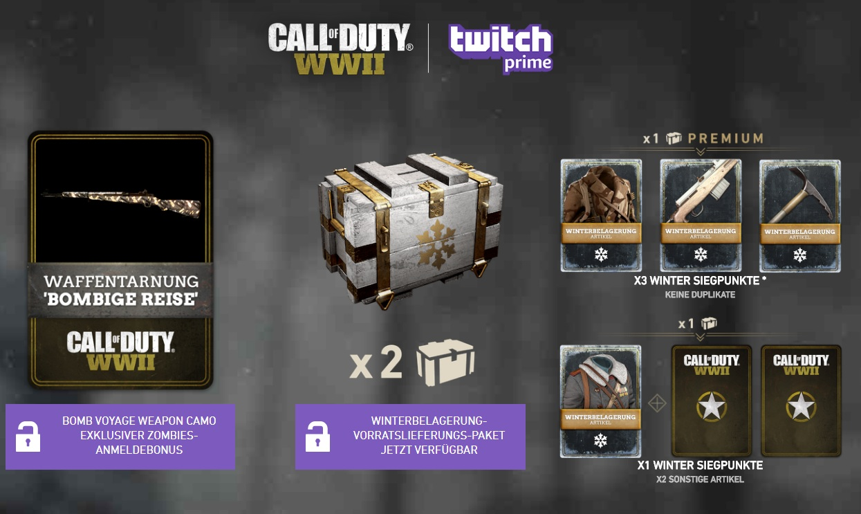 how to get twitch prime pack 2