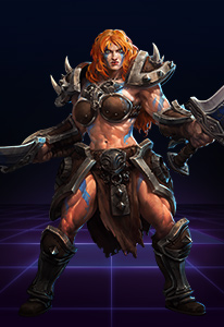 Heroes of the Storm Hero Sonya Key