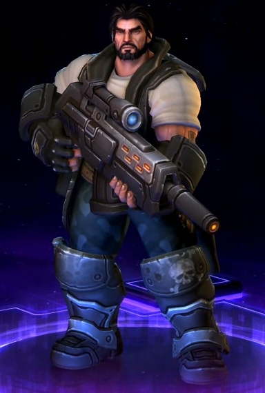 Heroes of the Storm Skin Commander Raynor герой Рейнор