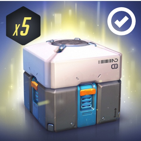 Overwatch Loot Box x5 Key Twitch Prime (OCTOBER)