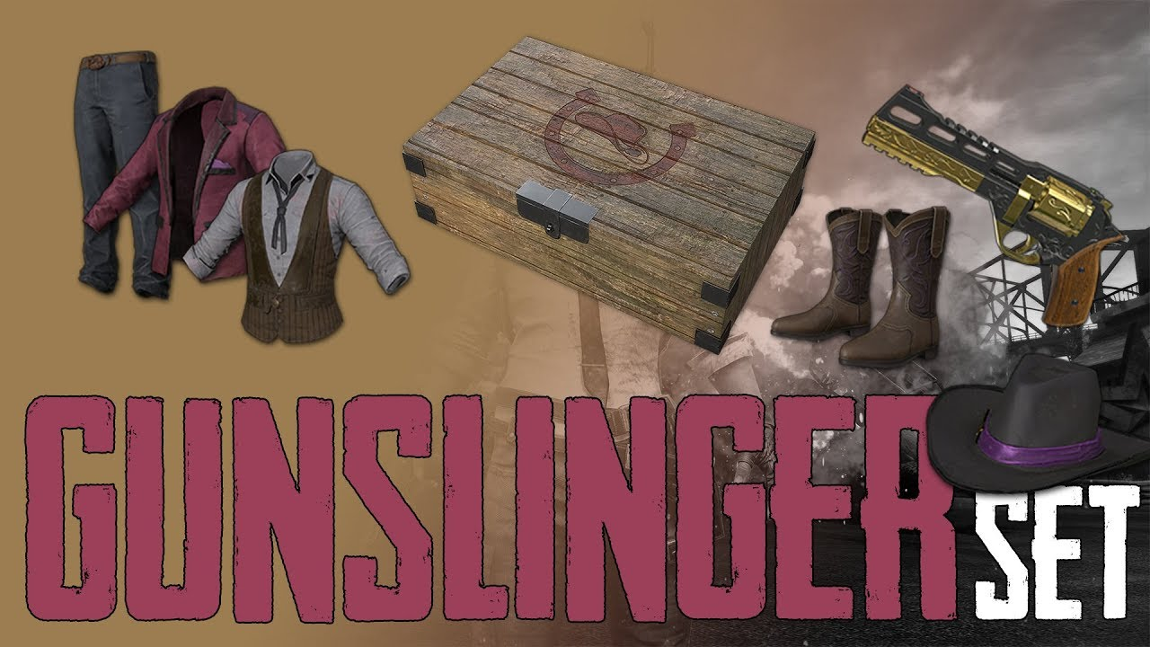 PUBG GUNSLINGER SET Crate (without Prime)