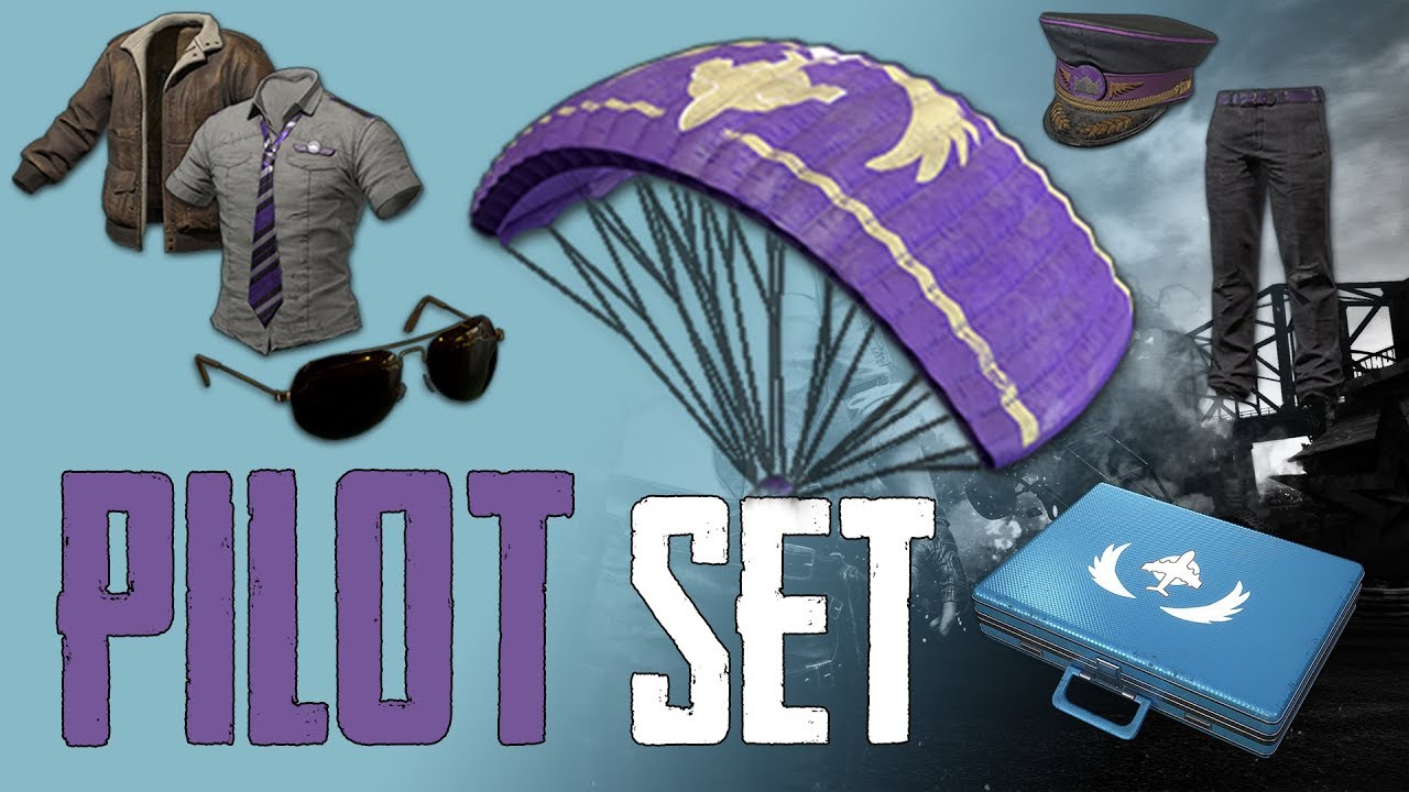 PUBG PILOT SET + GUNSLINGER SET (without Prime)