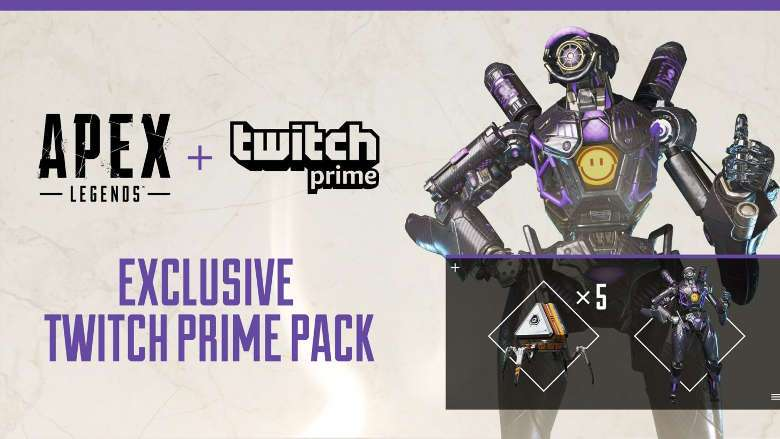 Apex Legends Omega Point Pathfinder + 5 Pack (no Prime)